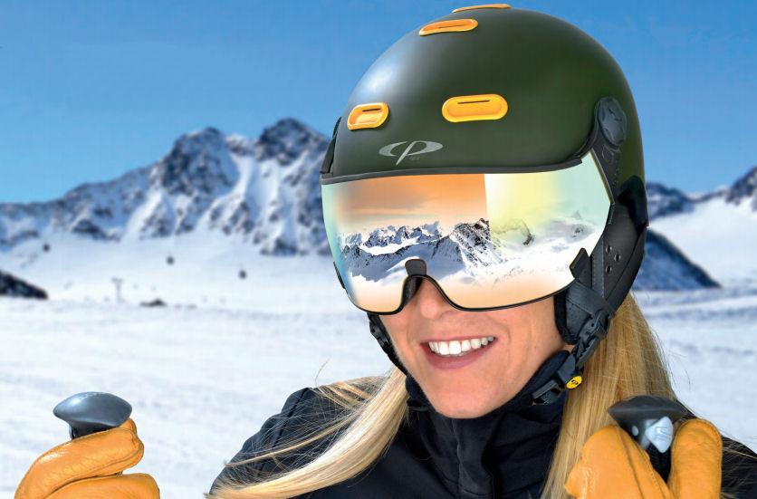 cp carachillo - skihelm snowboard helm met vizier heren_ dames kopen - skihelm mit visier herren_damen kaufen 1