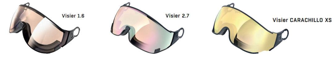 CP skihelm vizier - verkrijgbaar 3 soorten vormen