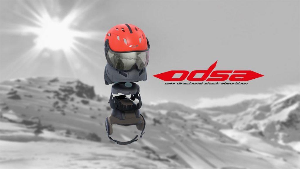 ODSA skihelm systeem CP extra veilig
